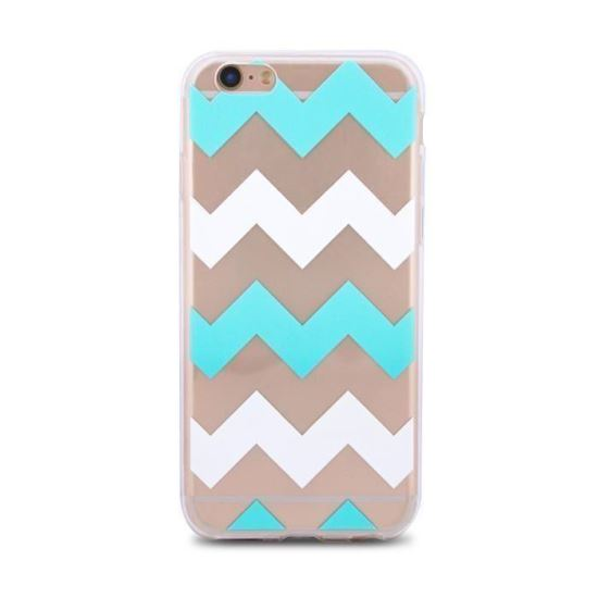 Husa spate slim Trendy Tribal iPhone 5