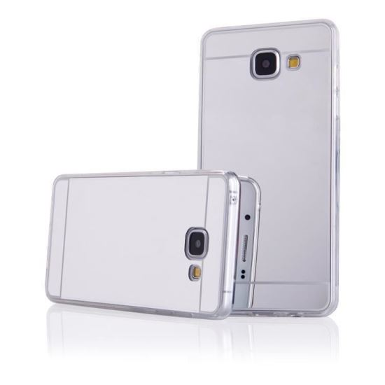 Husa Spate Fashion IPhone 6 Plus Mirror Silver