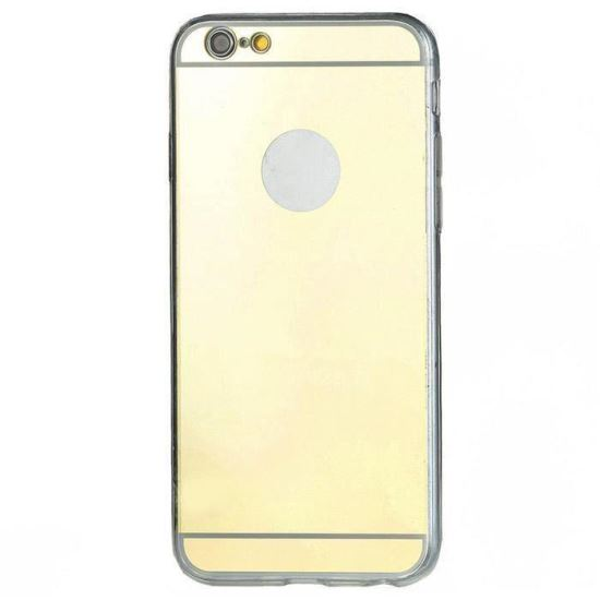 Husa spate Fashion iPhone 5/5S/SE Mirror Gold