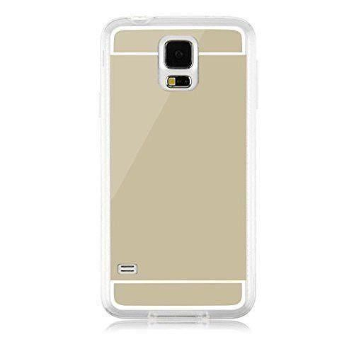 Husa Spate Fashion iPhone 7 / iPhone 8 Mirror Gold