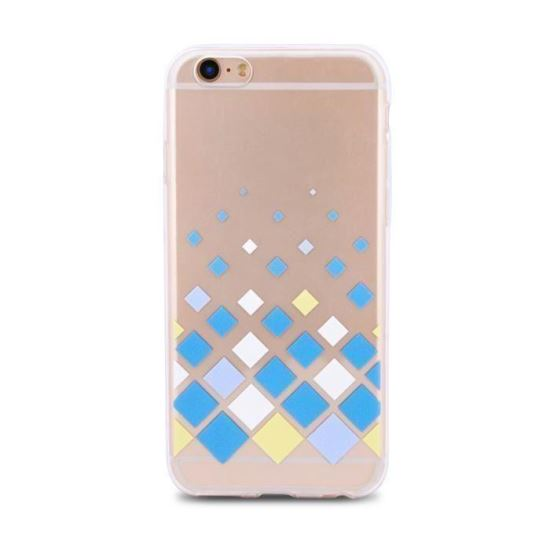 Husa iPhone 5 spate slim Color Cube