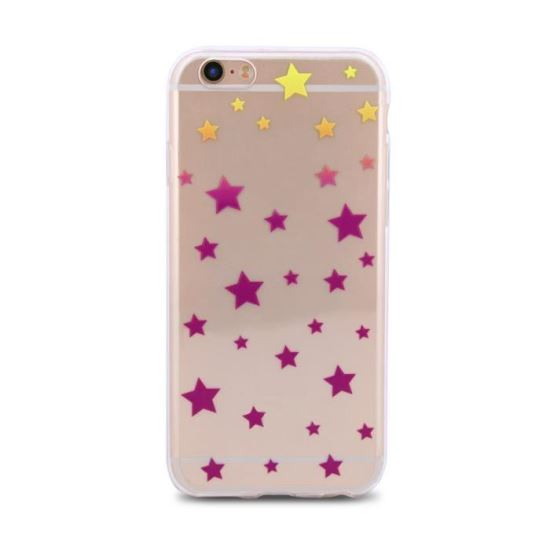 Husa iPhone 5 spate slim  Color Trendy Stars