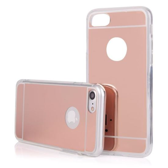 Husa Spate Fashion IPhon 6 Plus Mirror RoseGold