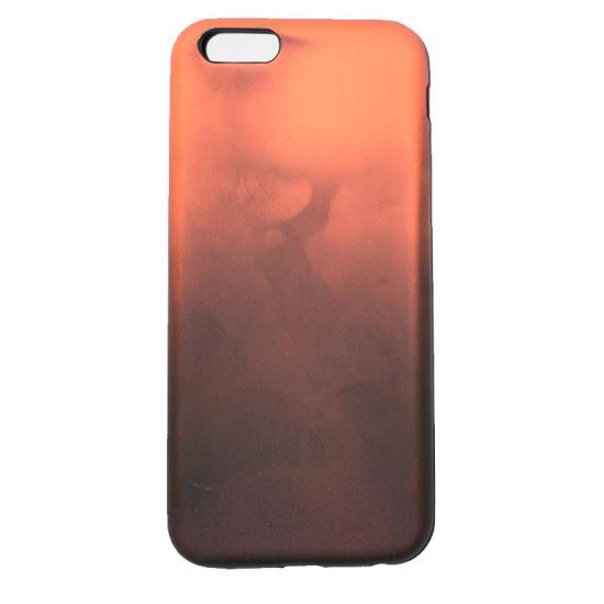 Husa Termo iPhone 6 Negru/Orange