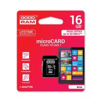 Card memorie micro-SD + Adaptor 16GB Class 10