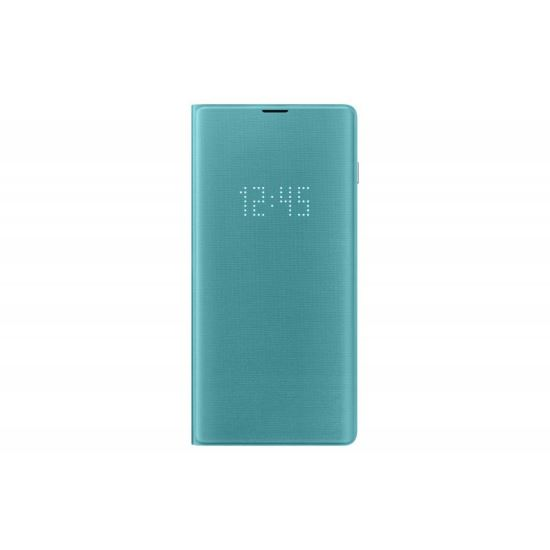 Husa Samsung Galaxy S10 Plus LED view cover Menta